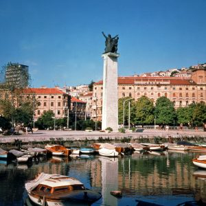 Monument-harbour-Independence-Croatia-Rijeka